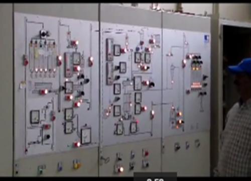 مصنع مجهز بأحدث الأجهزة التي تدار الكترونيا تحت اشراف أفضل المهندسين
